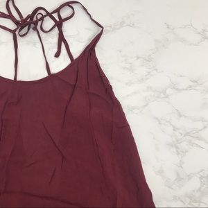 nwt brandy maroon  dress